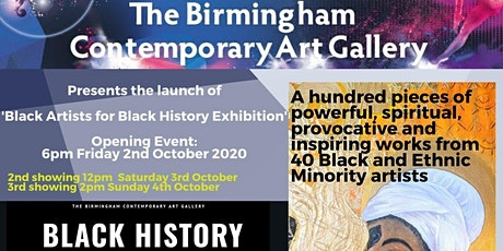BLACK HISTORY OPENING EVENT AND ART EXHIBITION tickets