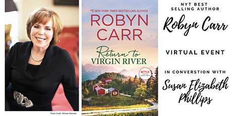 Author Robyn Carr  Virtual Book Discussion for Return to Virgin River tickets
