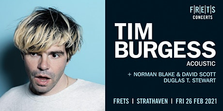 Tim Burgess - acoustic concert tickets