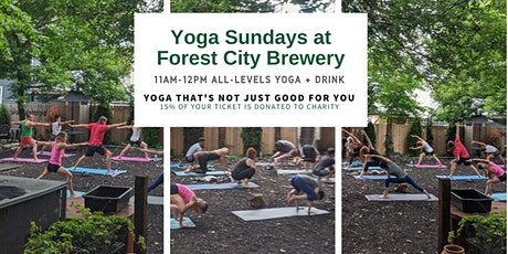 Yoga Sundays at Forest City Brewery tickets