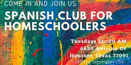 Spanish Club for Homeschoolers tickets