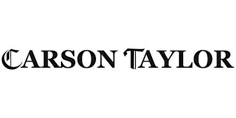 Shop Carson Taylor Ltd tickets