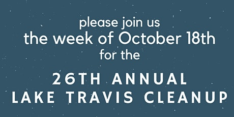 Lake Travis Cleanup - Cypress Creek tickets