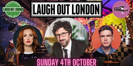 Laugh Out London in Tottenham - Mark Watson tickets