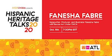 AIGA Unidos presents Hispanic Heritage Talks 2020: Fanesha Fabre tickets