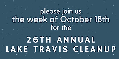 Lake Travis Cleanup - Jessica Hollis tickets