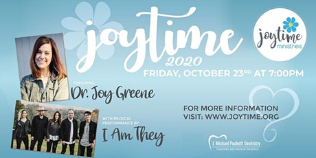 Joytime 2020 (NEW) with Dr. Joy Greene and I Am They (decreased capacity) tickets