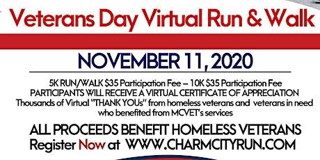 MCVET's Veterans Day Virtual Run & Walk tickets
