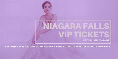 Niagara Falls Pop Up Wedding Dress Sale VIP Early Access tickets