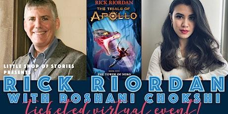 Rick Riordan Virtual Event with Roshani Chokshi! tickets