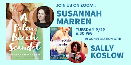 Authors on Zoom: Susannah Marren in conversation with Sally Koslow tickets