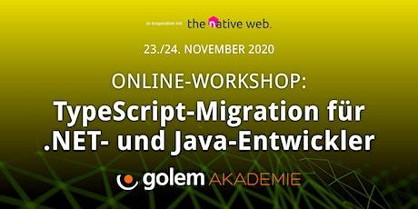 TypeScript-Migration für .NET- und Java-Entwickler tickets