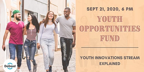 Youth Innovations Stream EXPLAINED tickets