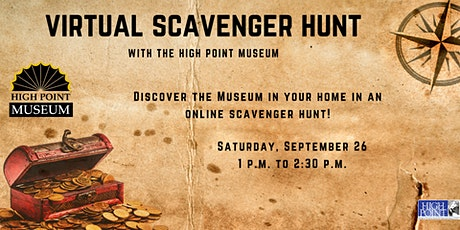 Virtual Scavenger Hunt with the High Point Museum tickets