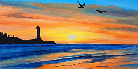 "Paint and Sip - ""Sunset Flight"" Gaslamp San Diego tickets"