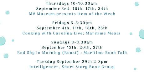Red Sky in Morning (Roast) : Maritime Book Talk tickets