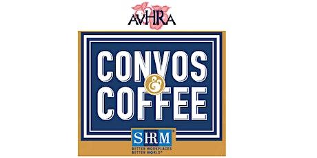 AVHRA - Convos & Coffee tickets