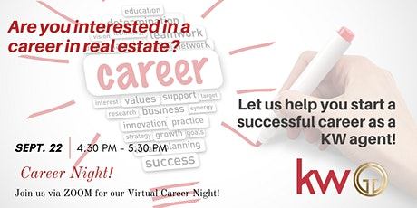 The Griffin Group of Keller Williams Career Night tickets