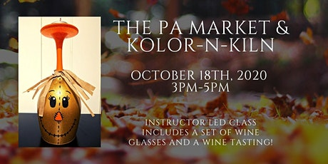 Autumn Wine Glasses with Kolor-N-Kiln tickets