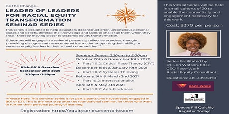 Leader of Leaders for Racial Equity Transformation tickets