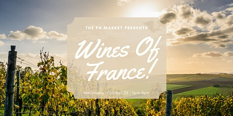 Wines of France tickets