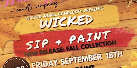 Wicked Sip & Paint tickets
