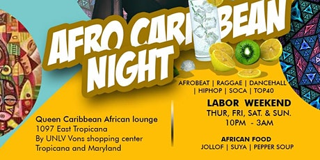 AFROBEAT Happy Hour Nightly Event @Queen Caribbean Lounge tickets