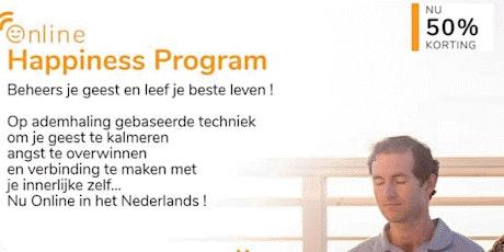 """""""Adem & Meditatie workshop""""- GRATIS introductie tot het Happiness Programma tickets"""