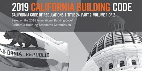 10-part California Building Code Workshop Series tickets