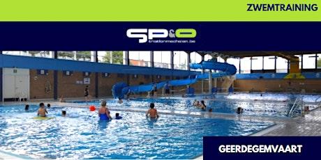 SP&O Zwemtraining dinsdag V1 Geerdegemvaart tickets