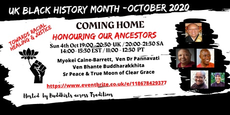 Black History : Coming Home - Honouring our Ancestors tickets