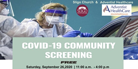 Sligo Church COVID-19 Community Screening tickets