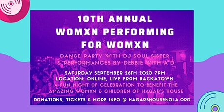 Womxn Performing for Womxn 2020 tickets