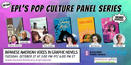 EPL's Pop Culture Panel Series: Japanese American Voices in Graphic Novels tickets