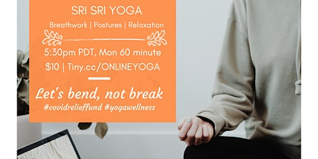 Online Sri Sri Yoga Class (PT) tickets