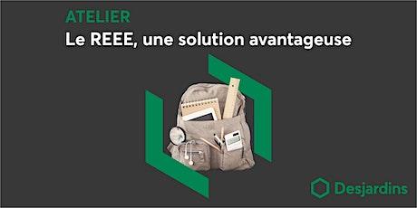 Atelier – Le REEE, une solution avantageuse (fr) billets
