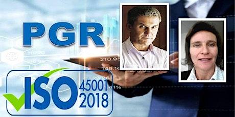 PGR E SUA RELAÇÃO COM A NORMA ISO 45001,2018 ingressos