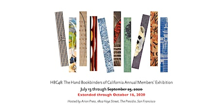 HBC48: The Hand Bookbinders of California Annual Members' Exhibition tickets
