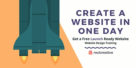 Create a Website in ONE Day tickets