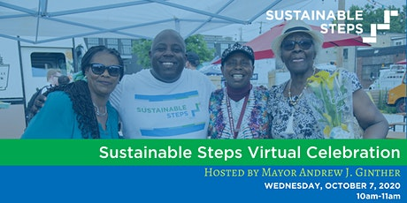 Sustainable Steps Virtual Celebration tickets