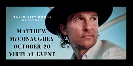 An Evening with Matthew McConaughey tickets