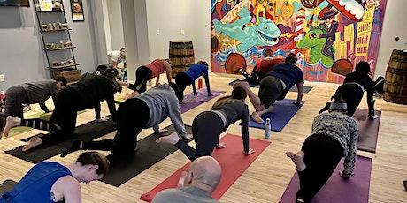 All-Levels Power Vinyasa Yoga Class - [Bottoms Up! Yoga] tickets