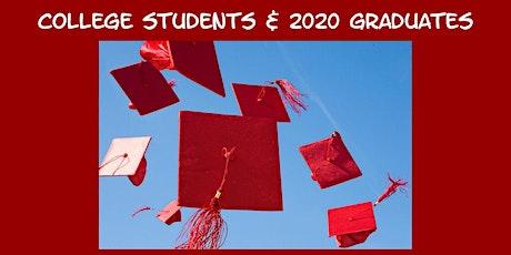 Career Event for COLUMBIA COLLEGE Students & 2020 Graduates boletos
