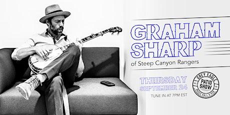 PATIO SHOW: Graham Sharp (of Steep Canyon Rangers) tickets