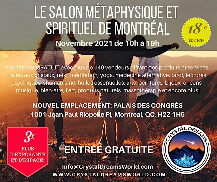 Le Salon Métaphysique et Spirituel de Montreal Par Crystal Dreams image