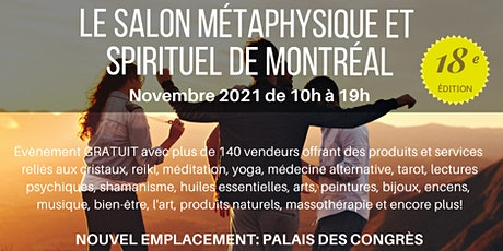 Le Salon Métaphysique et Spirituel de Montreal Par Crystal Dreams tickets