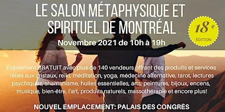 Le Salon Métaphysique et Spirituel de Montreal Par Crystal Dreams billets