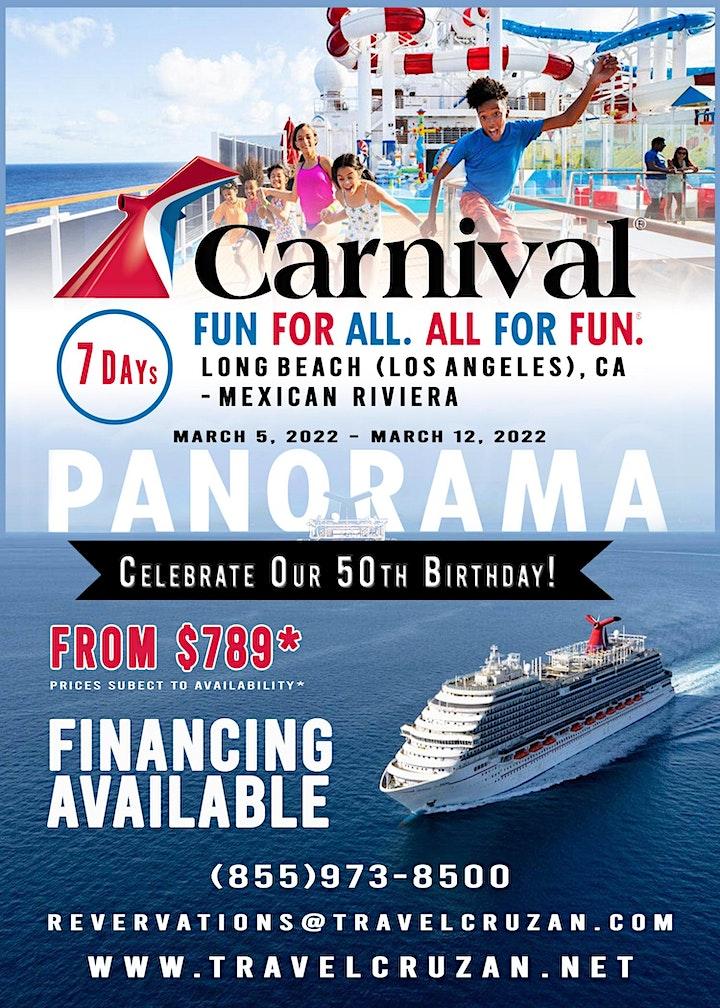Carnival Cruise 2021 - LA to Mexican Riviera image