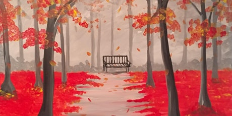 "Virtual Paint Party ""Park in the Fall"" with Creatively Carrie! tickets"