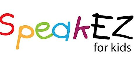 SpeakEZ for Kids - Fundamentals of Public Speaking - Grades K-5 - Level I tickets